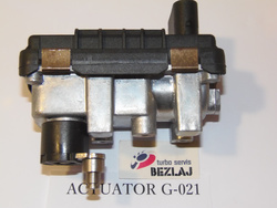 TURBO ACTUATOR <br>AUDI 2.7 3.0 TDI <br>HELLA GARRETT <br>Part No.767649 6NW 009 550 G-021
