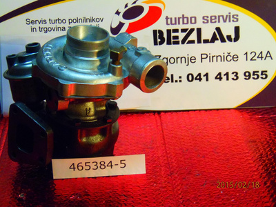 TURBINA VW PASSAT, JETTA, GOLF I, AUDI 90, 80