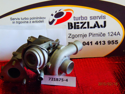 TURBINA HONDA CIVIC 1.7 CTDI
