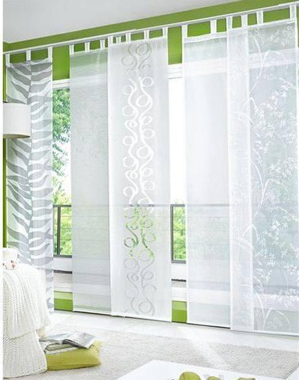 Panelne zavese informacija for Tende pannello ikea